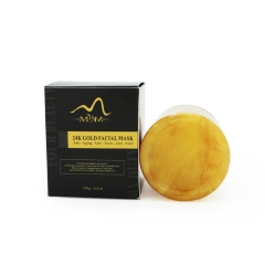 Wholesale Private Label Skin Care Manufacturer 24k Gold Face Mask For Glowing Skin