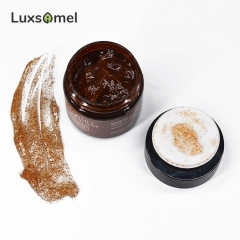 wholesale coffee skin exfoliation scrub face scrub for glowing skin