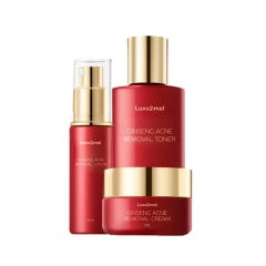 Wholesale Ginseng Face Collection Anti-acne Skin Care Series