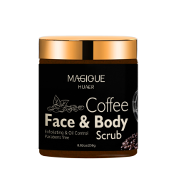 Bulk Sale Anti Cellulite Coffee Exfoliator Arabica Coffee Body Scrub At Home